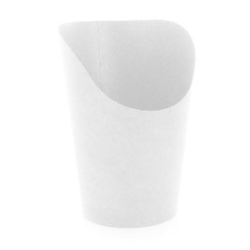 PacknWood Paper White Wrap Cup - 5.5 oz - 210GSP49W
