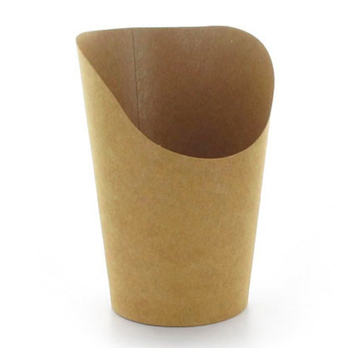 PacknWood Paper Kraft Wrap Cup - 12 oz - 210GSPK480