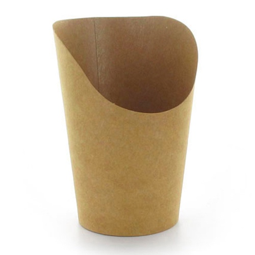 PacknWood Paper Kraft Wrap Cup - 6 oz - 210GSPK270