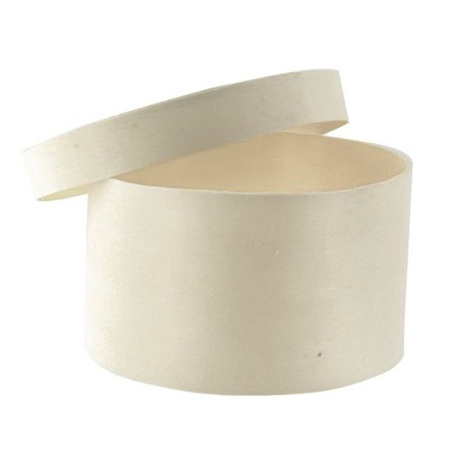 "PacknWood Wood Round Lid Box - 3 oz - 2.3"" - 210BBOITE66"