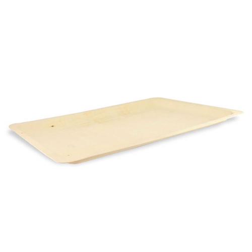 "PacknWood Wood Rectangular Scandinavia Tray - 15.75"" x 11"" - 210BBA4029"