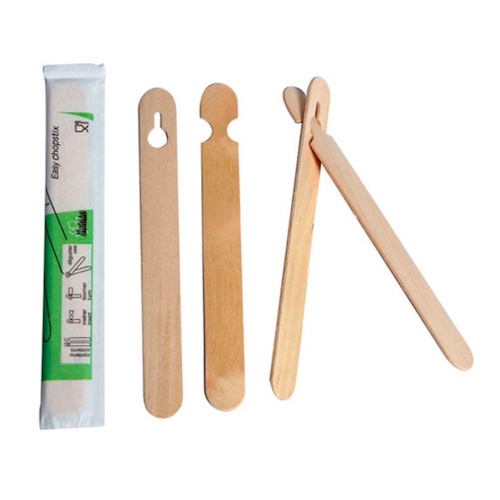 "PacknWood Wood Pair Chopstick Wrapped - 5.9"" - 210STIX15"