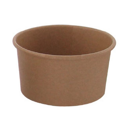 PacknWood Paper Kraft Souffle / Portion Cup - 7.8 oz - 210POB181