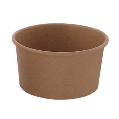 PacknWood Paper Kraft Souffle / Portion Cup - 4.2 oz - 210POB121