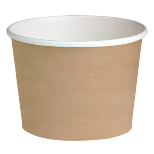 "PacknWood Paper Kraft Deli Container - 24 oz - 4.49"" - 210DELIPOC24"