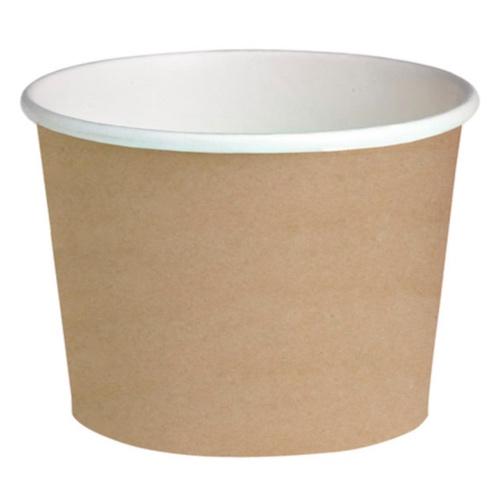 "PacknWood Paper Kraft Deli Container - 24 oz - 4.49"" - 210DELIPOC24"