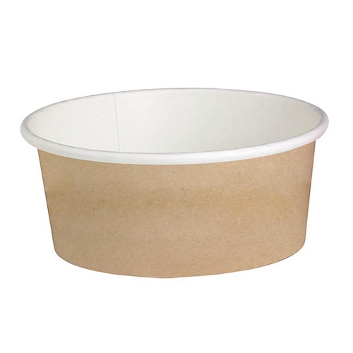 "PacknWood Paper Kraft Deli Container - 16 oz - 4.49"" - 210DELIPOC16"