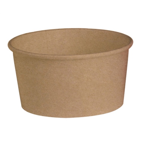"PacknWood Paper Kraft Buckaty Container - 32 oz - 5.9"" - 210PC1000K"