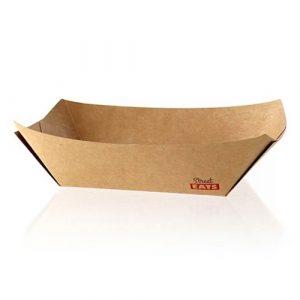 PacknWood Paper Kraft Boat - 1 lb - 6.3