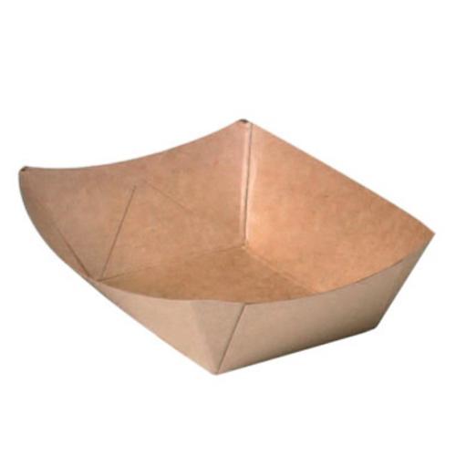 """PacknWood Paper Kraft Boat - 0.5 lb - 5.4"""" x 3.6"""" x 1.5"""" - 210BQKEAT2"""