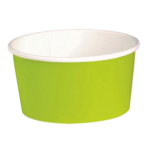 "PacknWood Paper Green Buckaty Container - 32 oz - 5.9"" - 210PC1000V"