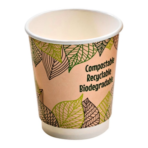 PacknWood Paper Design Double Wall Cup - 12 oz - 210GCDW12