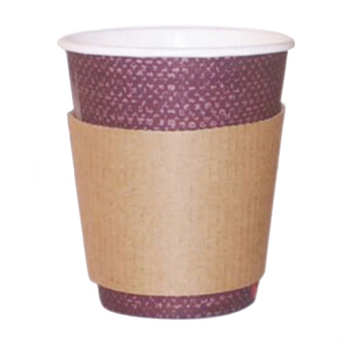 PacknWood Paper Coffee Cup Sleeve - 8-10 oz - 210GBAG8