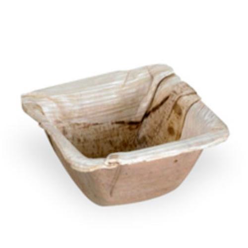 "PacknWood Palm Leaf Square Dish - 2.5"" - 210BBB671"