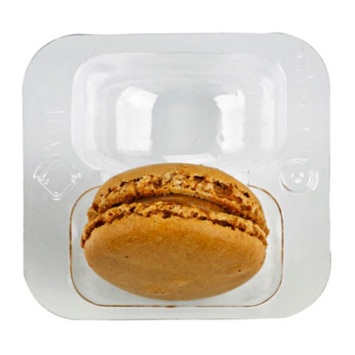 "PacknWood Clip Closure 2 Macaron Insert - 2.5"" x 2.6"" - 210MACINS2"