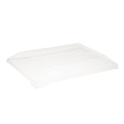 PacknWood Clear Dome Lid for Wood Dish - 10 oz - 210SAMLT85