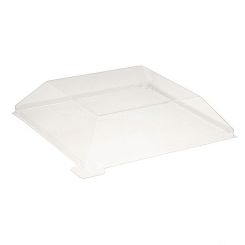 PacknWood Clear Dome Lid for Wood Dish - 8 oz - 210SAMLT1313