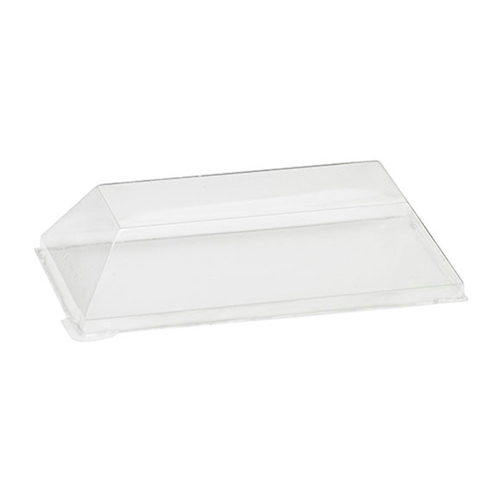 PacknWood Clear Dome Lid for Wood Dish - 5 oz - 210SAMLT65