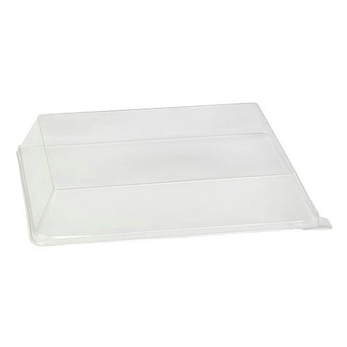 "PacknWood Clear Dome Lid for Scandinavia Tray - 10.6"" x 7.87"" - 210BBAL2621"