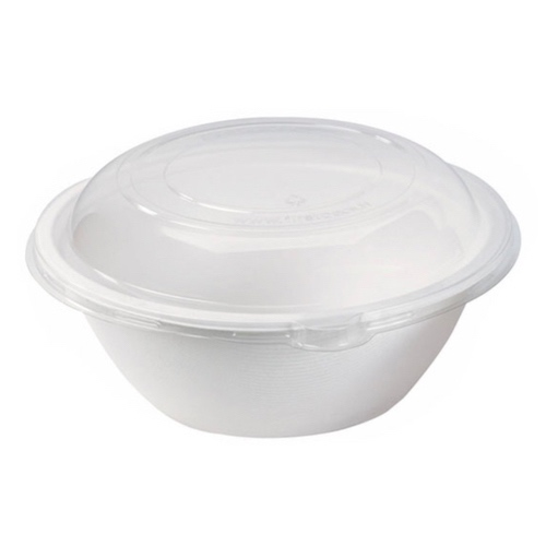 PacknWood Clear Dome Lid for Salad Bowl - 50 oz - 210APUL23L
