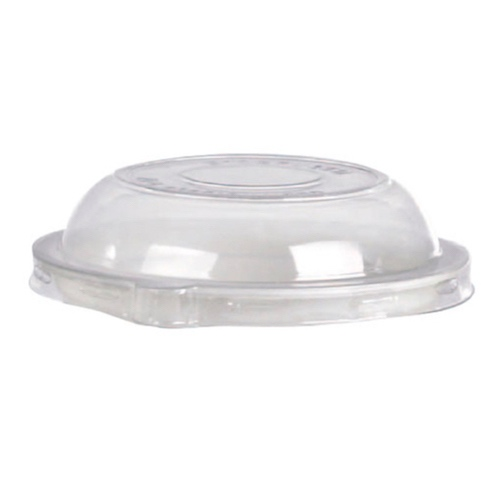 PacknWood Clear Dome Lid for Portion Cup - 9 oz - 210GPU201L