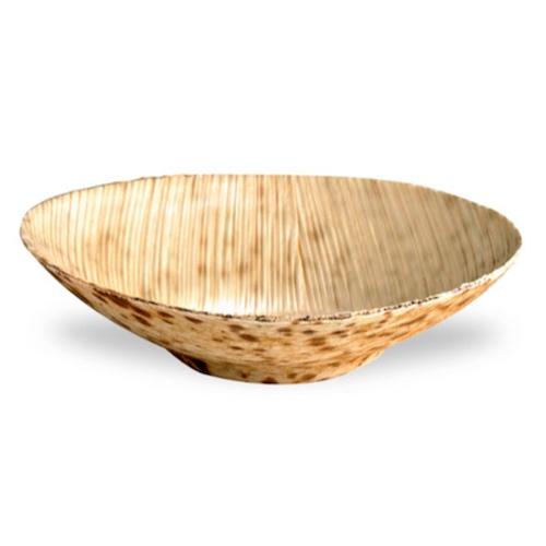 """PacknWood Bamboo Leaf Round Dish - 2 oz - 3.1"""" - 210BBOUSCOUP"""