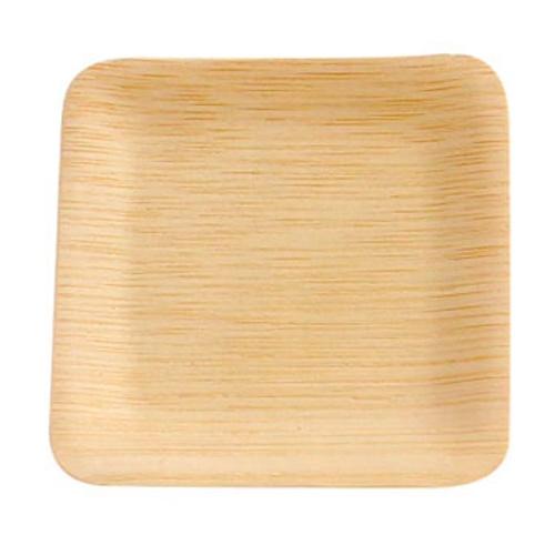 "PacknWood Bamboo Square Veneer Plate - 3.5"" - 210BVNER35SQ"