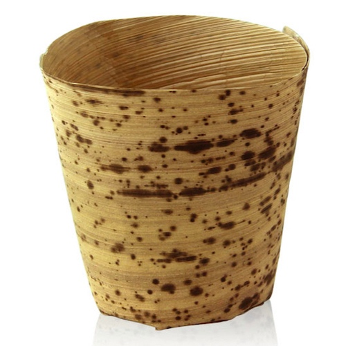 PacknWood Bamboo Leaf Cup - 4 oz - 210BZCUP6