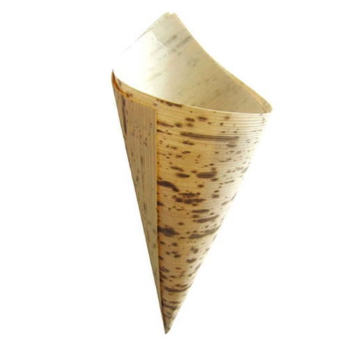 "PacknWood Bamboo Leaf Cone - 1.5 oz - 1.9"" x 5.1"" x 3.5"" - 210BBCOB13"