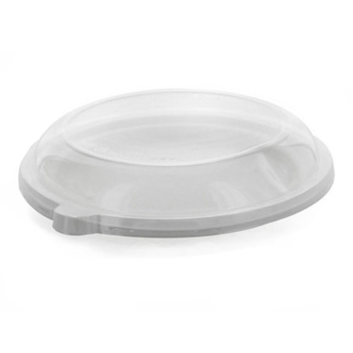 PacknWood Clear Dome Lid for Salad Bowl - 16 oz - 210APUBL1601