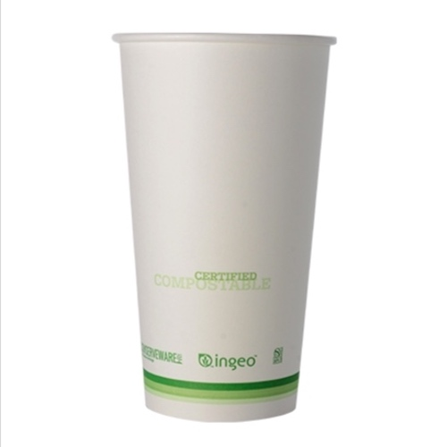 Conserveware Compostable Paper PLA Lined Hot Cup - 20 oz - 42HC20