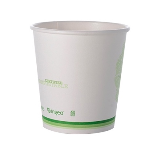 Conserveware Compostable Paper PLA Lined Hot Cup - 8 oz - 42HC08