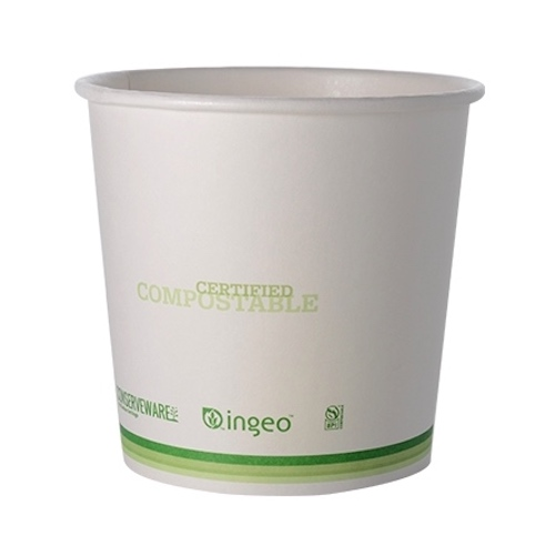Conserveware Paper PLA Lined Container - 24 oz - 42FC24