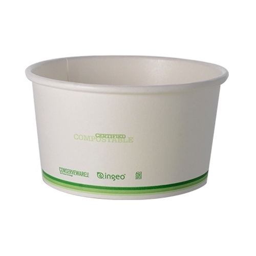 Conserveware Compostable Paper PLA Lined Container - 12 oz - 42FC12