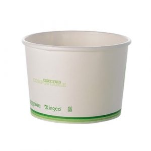 Conserveware Paper PLA Lined Container - 8 oz - 42FC08