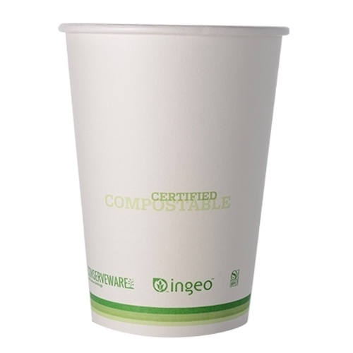 Conserveware Compostable Paper PLA Lined Container - 32 oz - 42FC32