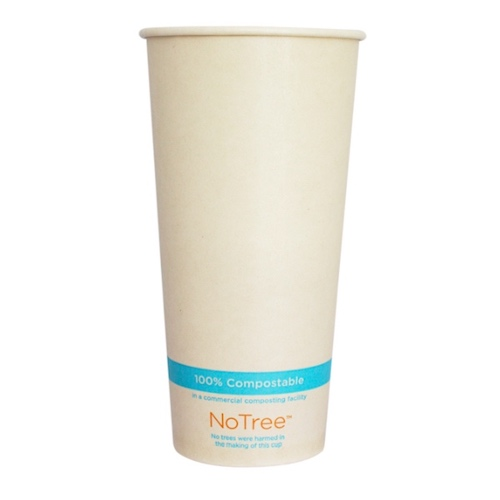 World Centric Paper NoTree Cold Cup - 22 oz - CU-SU-22C