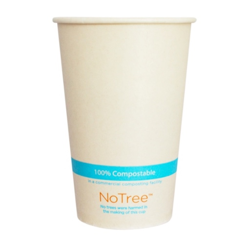 World Centric Paper NoTree Cold Cup - 16 oz - CU-SU-16C