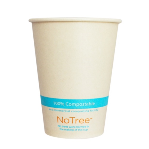 World Centric Paper NoTree Cold Cup - 12 oz - CU-SU-12C