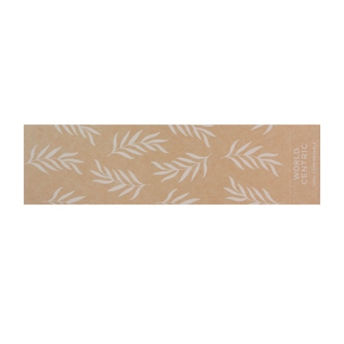 World Centric Paper Kraft Sleeve for Container - 48 oz - SL-PA-CT3