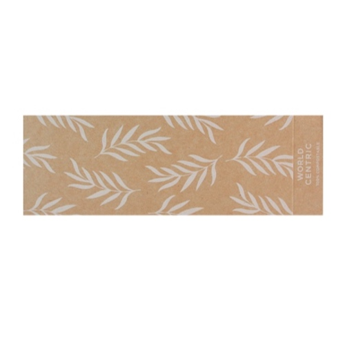 World Centric Paper Kraft Sleeve for Container - 20-32 oz - SL-PA-CT2