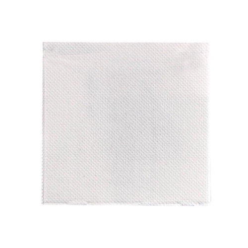 "PacknWood Paper White Napkin 2-Ply - 10"" x 10"" - 210SMP2525BL"