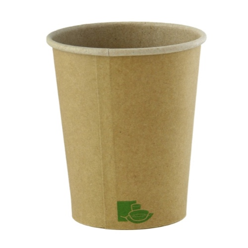 PacknWood Paper Kraft Zen Cup - 4 oz - 210GCZEN4