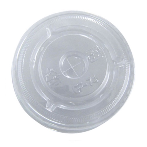 "PacknWood Clear Flat Lid for Portion Cup - 2.95"" - 210GKL74X"