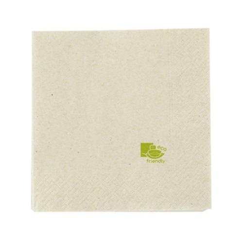 "PacknWood Paper Kraft Napkin 2-Ply - 11.8"" x 11.8"" - 210SEC31312P"