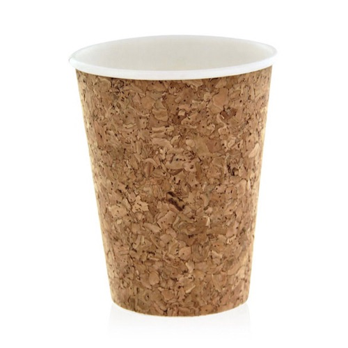 PacknWood Insulated Cork Coffee Cup - 16 oz - 210CORK16