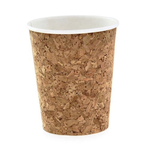 PacknWood Insulated Cork Coffee Cup - 8 oz - 210CORK8