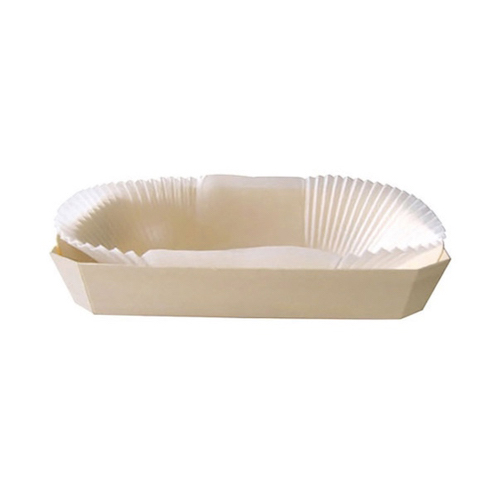 "PacknWood Wood Baking Mold - 30 oz - 10"" x 4.5"" x 2.5"" - 210NBAKE501"