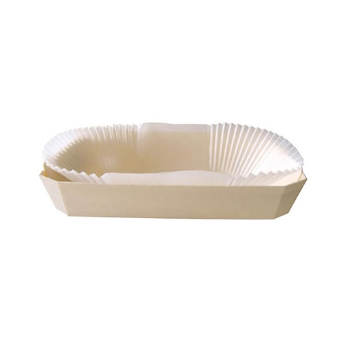 "PacknWood Wood Baking Mold - 30 oz - 9.6"" x 5.7"" x 1.5"" - 210NBAKE1238"