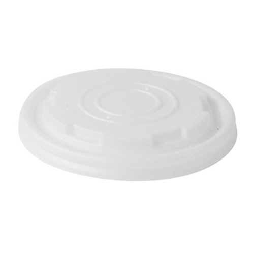 PacknWood CPLA Lid for Soup Cup - 8 oz - 210LPLAS8